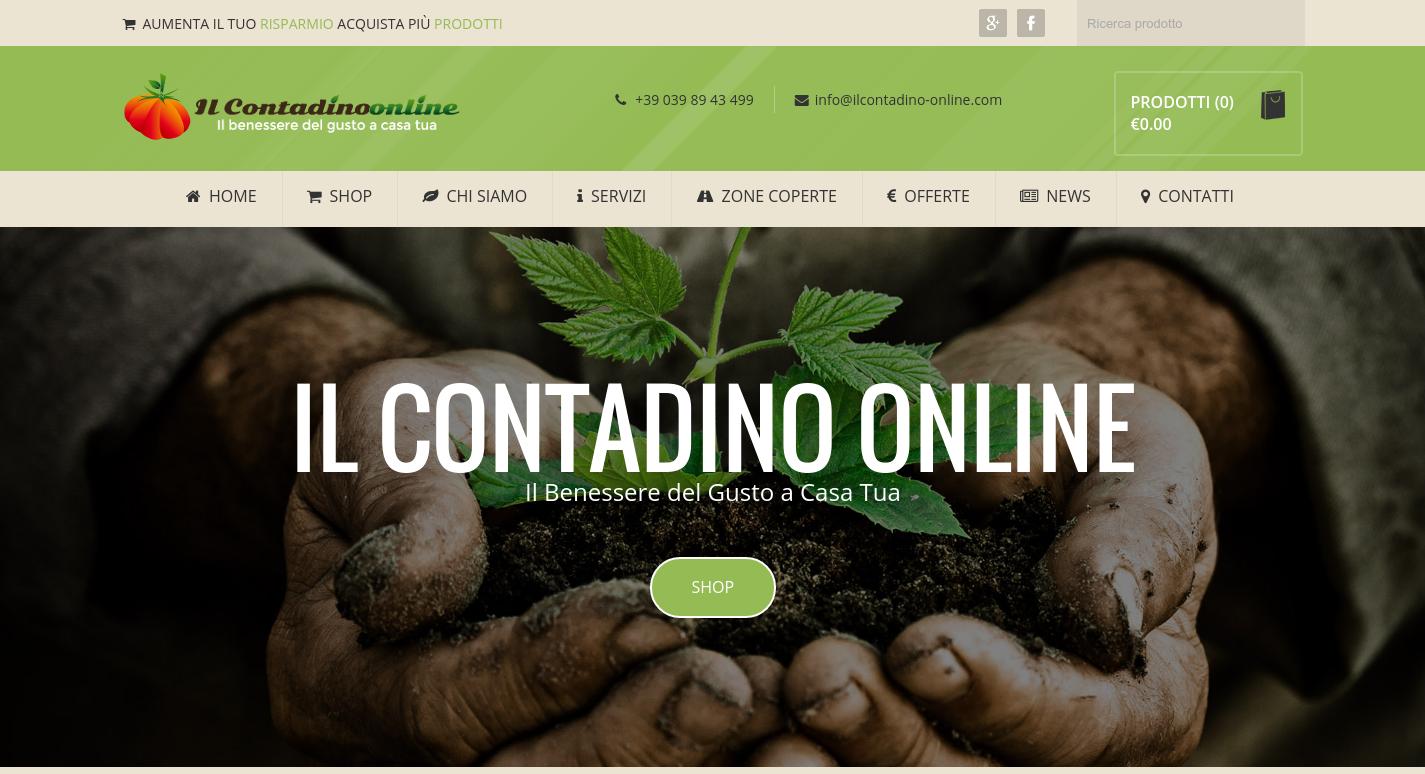Ecommerce Il Contadino Online