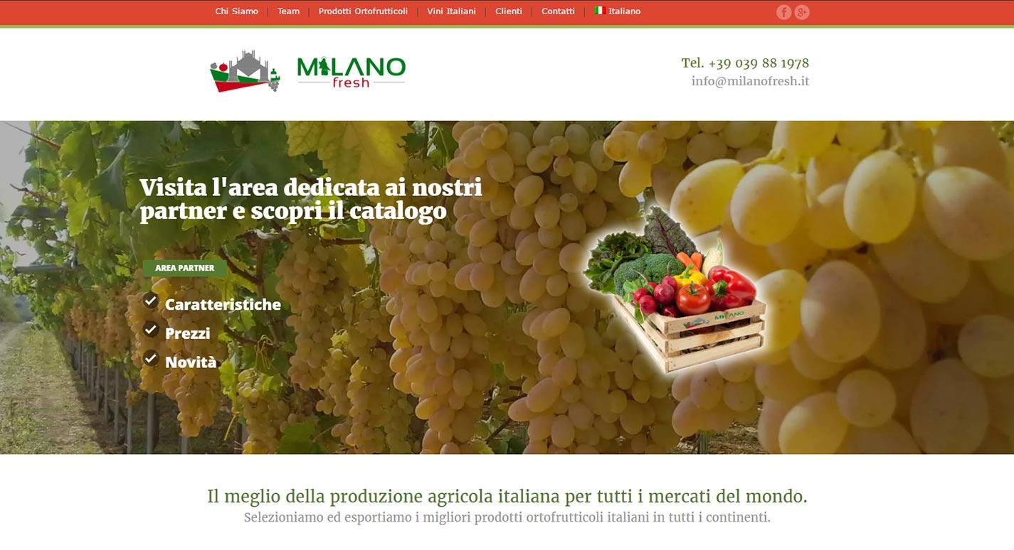 Sito Web Milanofresh
