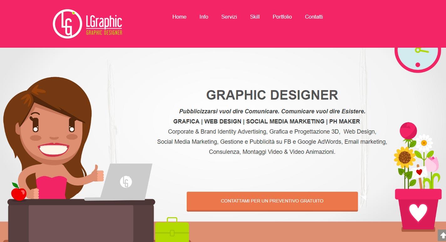 Sito Web LGraphic