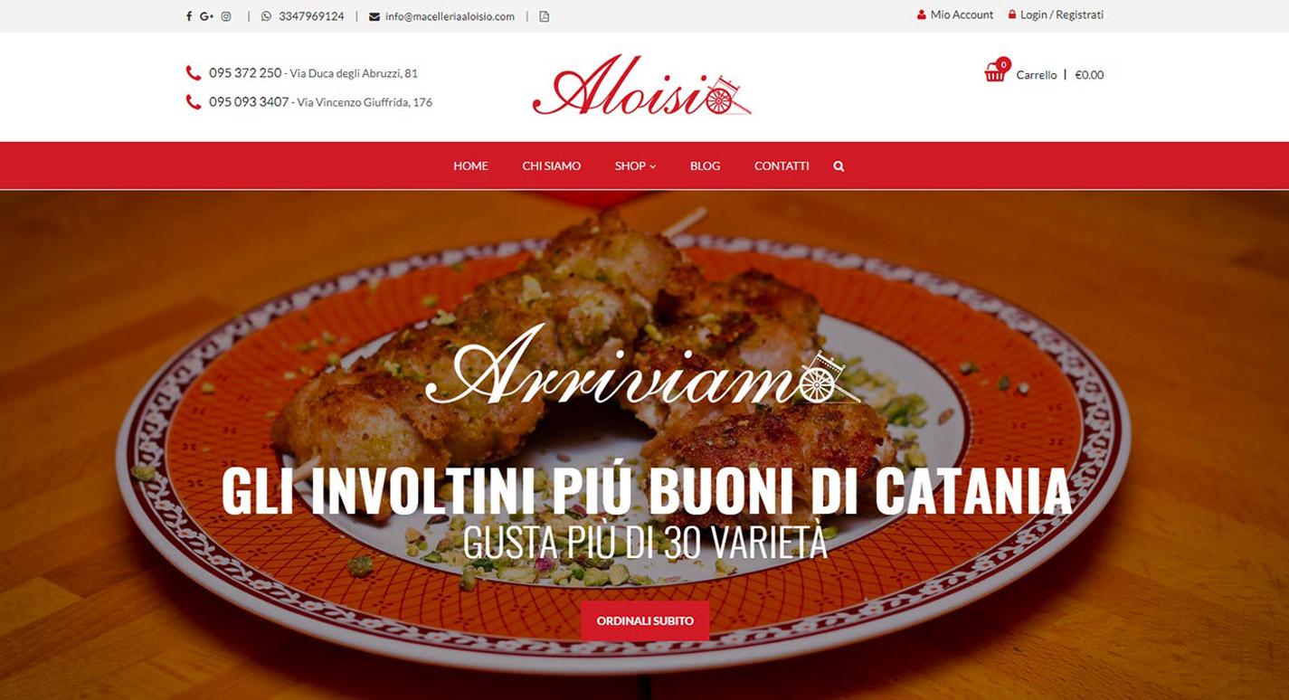 Sito Web Macelleria Aloisio